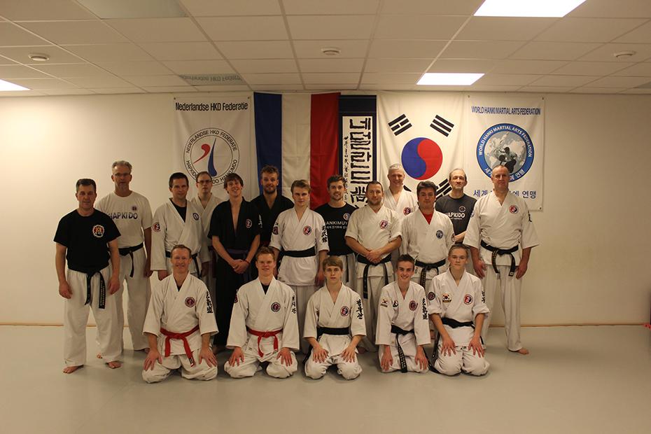 Yudanja training Hapkido