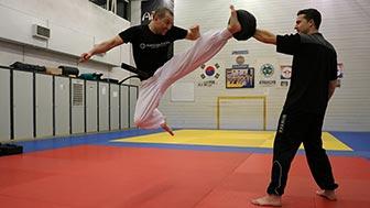 Hapkido jumping spinning heelkick - Jeilkwan
