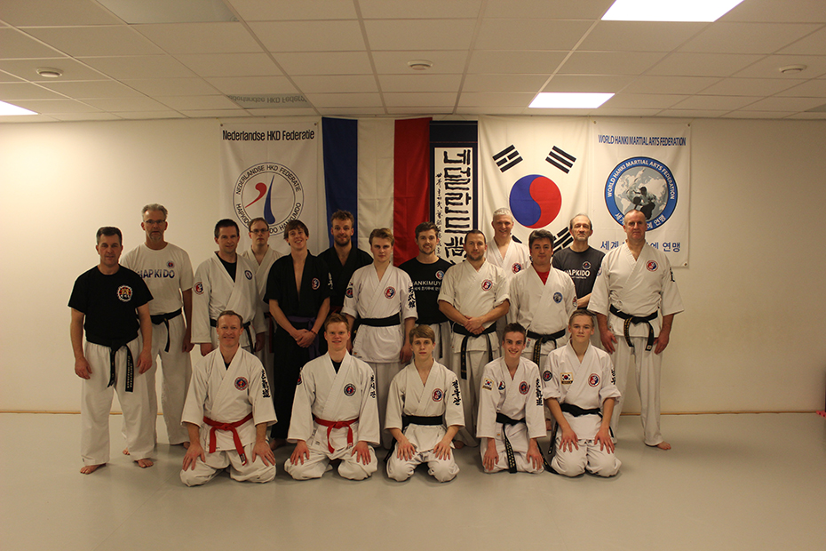 Yudanja training Hapkido